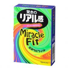 Презервативы Sagami Miracle Fit - 5 шт.