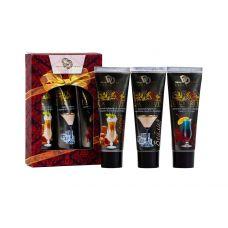 Подарочный набор ароматизированных интимных гель-смазок